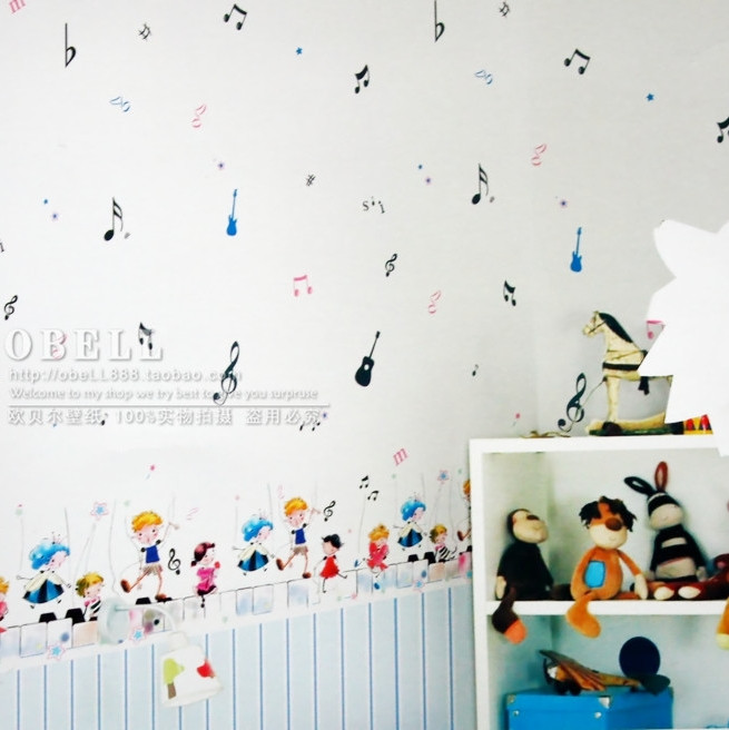 2016 new hot sale waist collocation personality music notes non-woven wallpaper wall paper boys girls bedroom of children room hot horloge new desigh hot sale colorful boys girls students time electronic digital wrist sport watch 2017may10