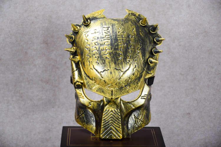 Esplosioni film temi predators pieno Viso Maschera Esercito Giochi Maglia Visiera Maschera per Halloween Cosplay Del Partito Decor