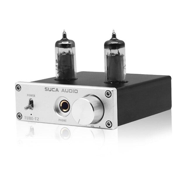 SUCA Amplificador de Audio 6K4 Tube NE5532 para teléfono, Amplificador de Audio portátil 6J1