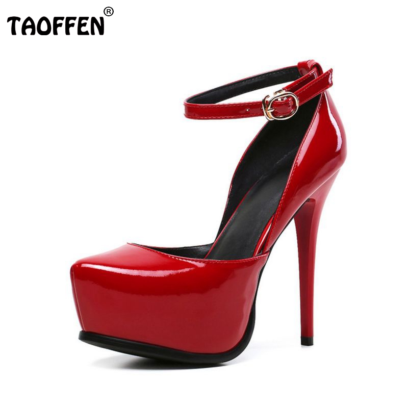 size 33-42  women real genuine patent leather high heel shoes brand sexy ladies heels wedding pumps heeled footwear shoes R08636 p23128 women patent leather thin heel pumps elegant pointed head stiletto fashion simple style ladies heeled shoes size 33 42