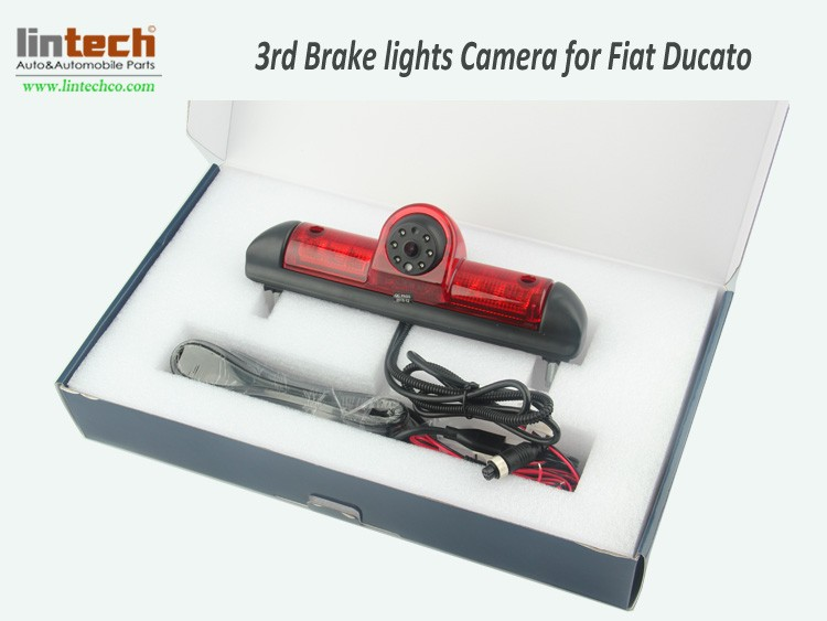 Brake lights camera system for Ducato packing