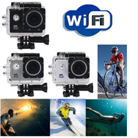 Waterproof Case 4K WIFI Mini Action Cam HD DV Sports Recorder Camera Web HDMI MOV Snapper