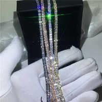 4 couleurs amoureux Tennis bracelet 5A cubique zircone or blanc rempli fête fiançailles bracelets pour femme accessoires de mariage