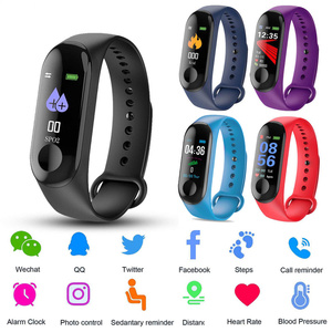 M3 Smart Watch Men Heart Rate Monitor Blood Pressure Fitness Tracker Waterproof Bluetooth SmartWatch for ios android Wristbands