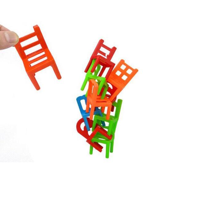 Sedie Impilabili In Plastica.18 Pz Setpackage Plastica Equilibrio Sedie Impilabili Gioco Da