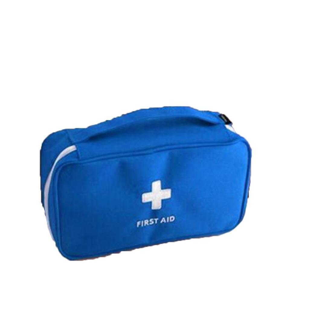 Compact First Aid Bag Emergency Care Medicine Case Home Lightweight, Shockproof And Not Easily Deformed. Travel