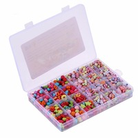 Girls Beads DIY Toys For Children Puzzle Toys String Beads New Hot Necklace Jewelry Building Bracelet