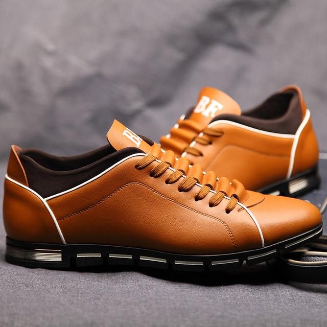 ZERO MORE Big Size 38-50 Men Casual Shoes Fashion 5 Colors Hot Sales Shoes for Men Spring Comfortable Men's Shoes Dropshipping 3