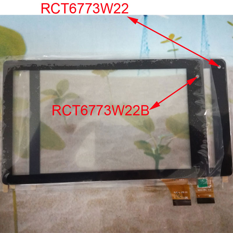 Myslc touch screen replacement For 7inch RCA VOYAGER ll Model RCT6773W22B RCT6773W22 tablet pc touch screen glass touch panel knl hobby voyager model pe35418 m1a1 tusk1 ubilan
