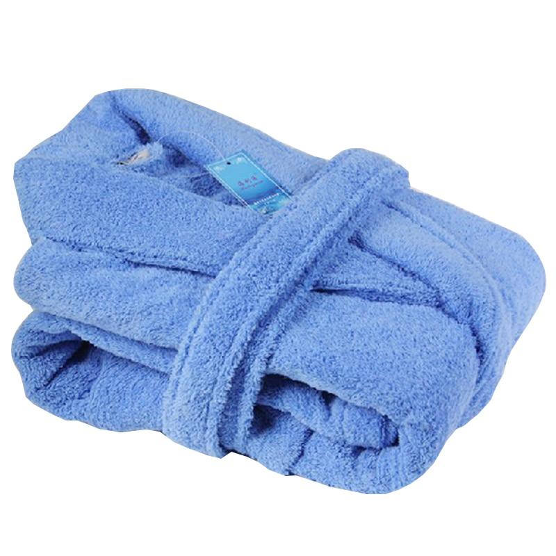 Doprava zdarma Hilift zahušťování 100% bavlna župan kvalitní froté župan ručník župan