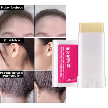 15g uszkodzony krem do włosów wykończenie Stick Anti-suszenia Anti-Static trwałe modelowanie wosk do włosów kij dla mężczyzn kobiety TSLM2 tanie i dobre opinie Pomady i woski as picture Hair Wax Stick Hair Cream Y W F