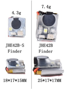 Finder JHE42B JHE42B_S 5V Super Loud Buzzer Tracker 110dB with LED Buzzer Alarm For FPV Racing Drone Flight Controller(China)