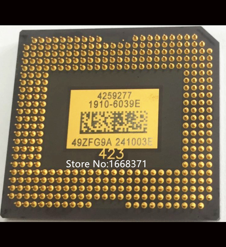 Free shipping New CHIP 1910 6039E 1910 6037E DMD fit for Optoma HD26 BENQ W1070 Projector