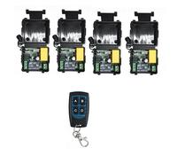 220V Wireless Remote Control Switch AC 220 V 1 Channel Relay Receiver Module and RF 433MHz Remote Controls