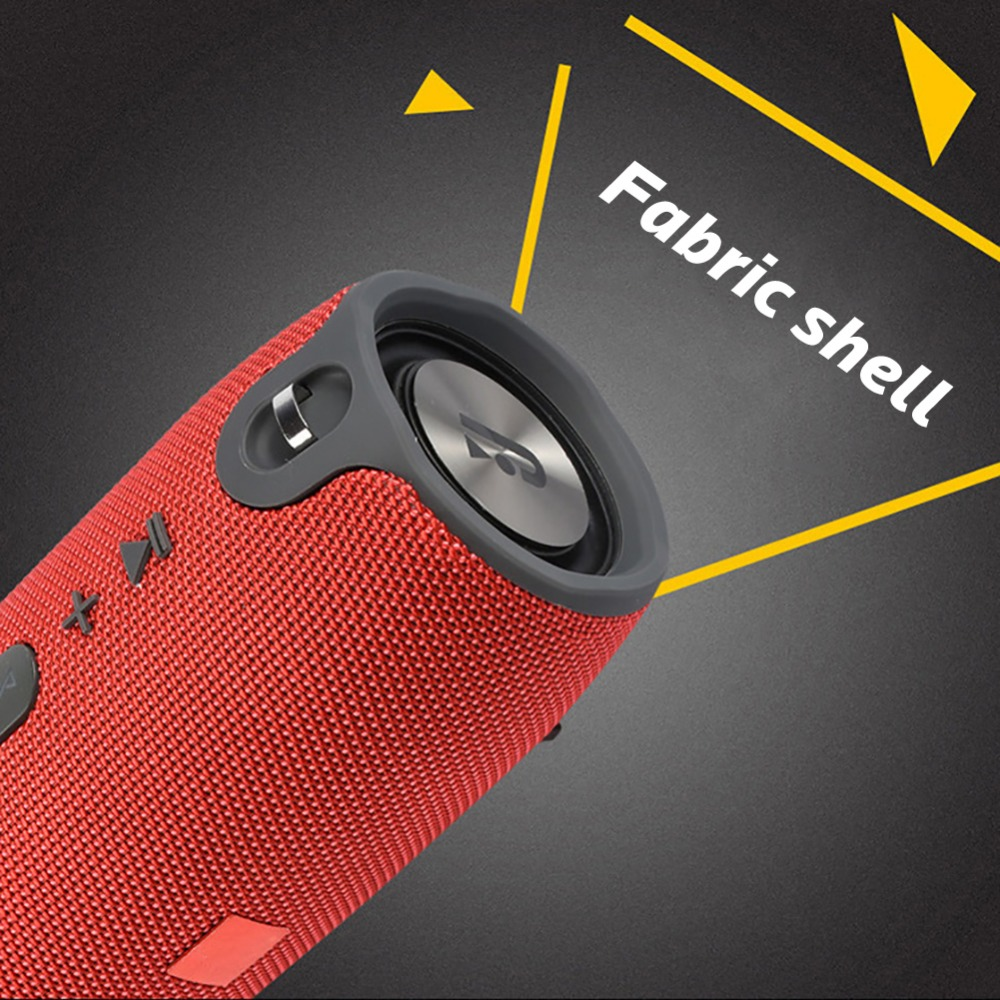 Portable Wireless Bluetooth Outdoor Mini Column Loud Subwoofer Powerful Speakers
