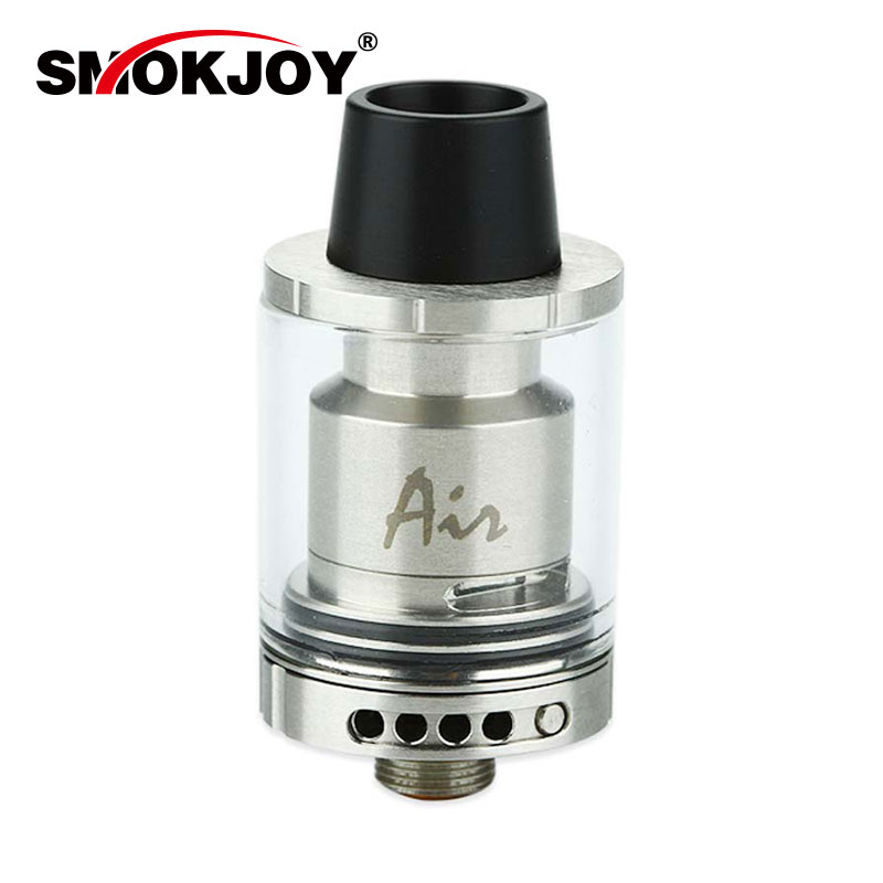 Original SMOKJOY Air RTA Atomizer 1 8ml Top Filling Adjustable Airflow Rebuidable Tank for Box MOD