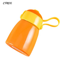 CTREE 260ml New Mini Heat Preservation Cup Portable Stainless Steel Band Coverband Rope Student Cups Vacuum