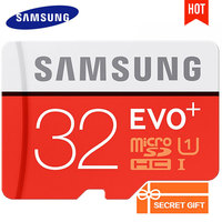 Original SAMSUNG 32GB Micro SD Card Memory Cards EVO 32gb Class10 TF Memoria Card EVO Plus