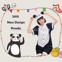 Summer Adult Panda Costume Pyjamas Cute Animal Cosplay Women Leisure Wear Christmas Carnival Party Costume Panda Onesies Pajamas