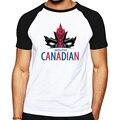 Casual tops tees logo projetado roupas masculinas legal Deadpool padrão CANADENSE canadá marca masculino T-shirt de manga curta de boa qualidade