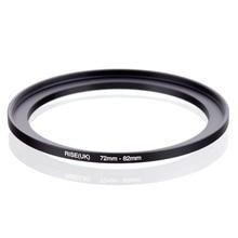 Oryginalny RISE (UK) 72mm 82mm 72 82mm 72 do 82 pierścień redukcyjny adapter do filtra czarny