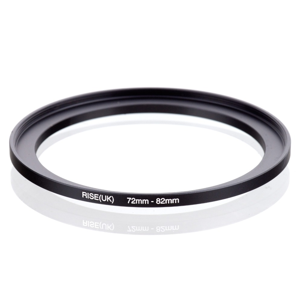 Original RISE(UK) 72mm-82mm 72-82mm 72 To 82 Step Up Ring Filter Adapter Black