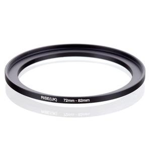 Image 1 - original RISE(UK) 72mm 82mm 72 82mm 72 to 82 Step Up Ring Filter Adapter black