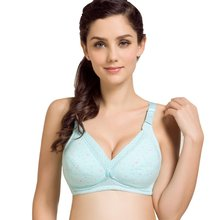 Women Wireless Cotton Feeding Nursing Maternity Bra Breastfeeding Pregnant Bra