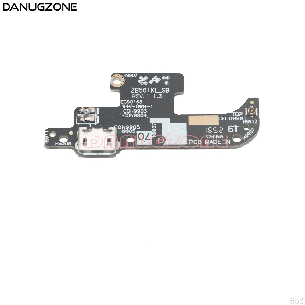 USB Charging Port Dock Plug Socket Jack Connector Charge Board Flex Cable For ASUS Zenfone Live ZB501KL A007