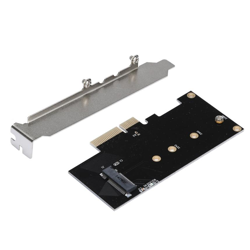 все цены на Good Application Adapter Card to PCI-E x4 for M.2 NGFF SSD XP941 SM951 M6E PM951 950 PRO SSD Sep30 онлайн