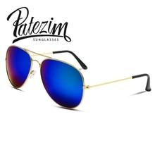 2016 Summer New Coating Sunglasses Women & Men Top Fashion Design Classic Oculos Unisex Vintage Aviator Sun Glasses 11 Colors