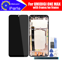 6.3 calowy UMIDIGI ONE MAX wyświetlacz LCD + montaż digitizera ekranu dotykowego 100% oryginalny nowy LCD + dotykowy Digitizer dla jednego MAX + narzędzia