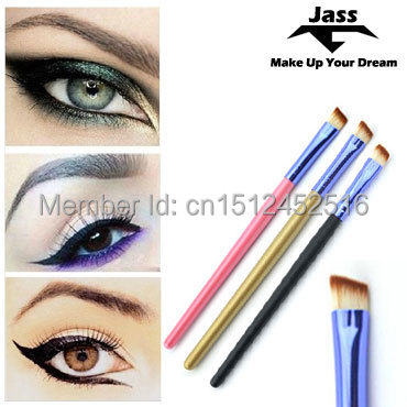 1PCS Professional Oblique Eye Brow Eyeshadow Blending Pencil Brush Make up tool Cosmetic Smooth Angled Eyebrow Brush