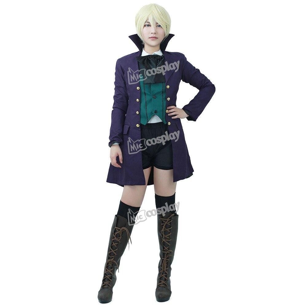 Anime Black Butler 2 Earl Alois Trancy Cosplay Costume Men Women Unisex Clothing