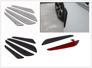 Auto parts carbon fiber sticker bumper door side bumper strip for BMW E34 F10 F20 E92 E38 E91 E53 E70 X5 M M3 image