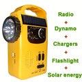 Многофункциональное устройство fm-радио, wi-fi, динамо, светодиодный фонарик и мобильное зарядное устройство.