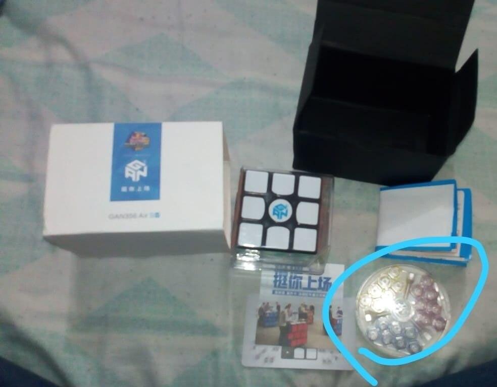 Gan 356 Air SM 3x3x3 Version de mise à jour 2019 Cube de vitesse magnétique professionnel 3x3 Cube magique Puzzle torsion jouets éducatifs pour enfant - 5