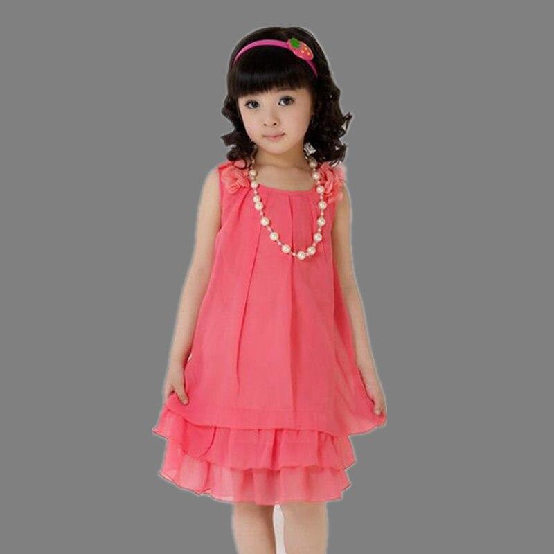 d63746d2e16 Свет детей одежда девочки сарафан лето 2016 шифоновое платье красный желтый  7 8 9 10 11 13 лет сладкий детские платья для девочек 12 лет летние  сарафаны для ...