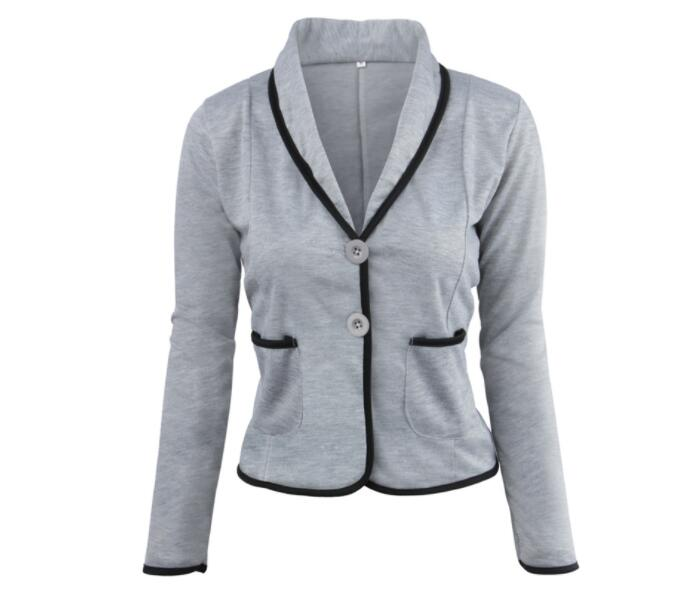 Women Blazer 2019 Autumn Bodycon Ladies Blazer Office Work Wear Business Jacket Top Elegant Outwear