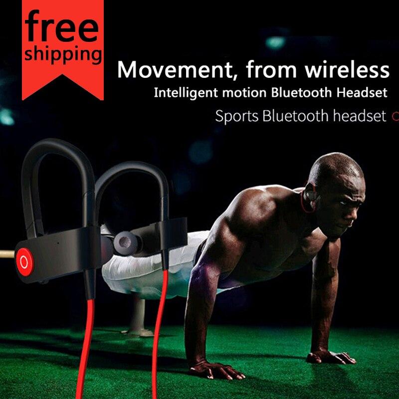 New M333 headset sports bluetooth headset wireless headphone 4.1 wireless Bluetooth headset jogging binaural headset hanging ear