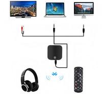 Wireless Bluetooth v4.1 3.5mm Transmitter Receiver for TV Computer Aptx Fiber Lossless Stereo Audio Adapter Bluetooth Receiver