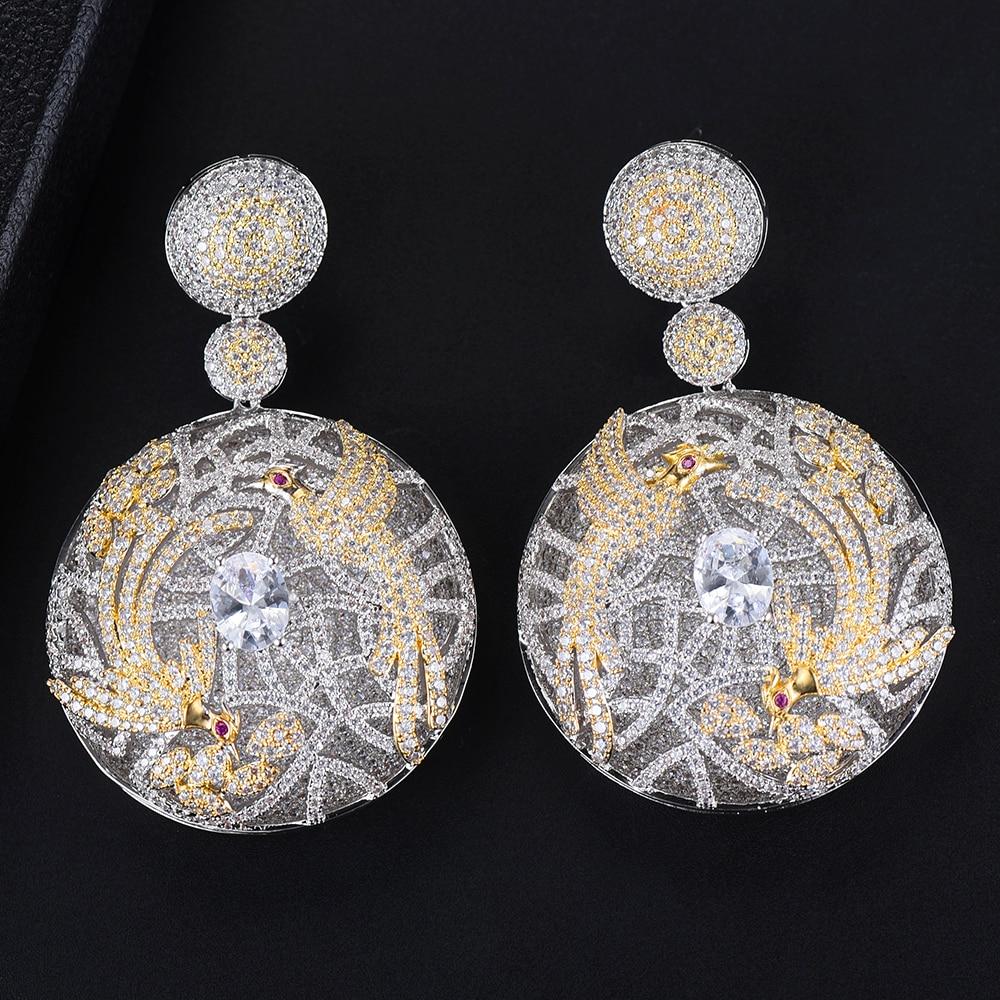 Missvikki 40*63 мм круглые серьги с подвесками нигерийский, индийский Африканский женский серебряный Модный наивысшего качества Ms. must have аксессуары
