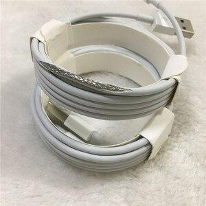 Image 5 - 10pcs/lot Original 2m/6FT E75 Chip OD 3.0mm 100% Data USB Cable For Foxconn 5S 6 6s 7 7plus 8 8pl With retail box