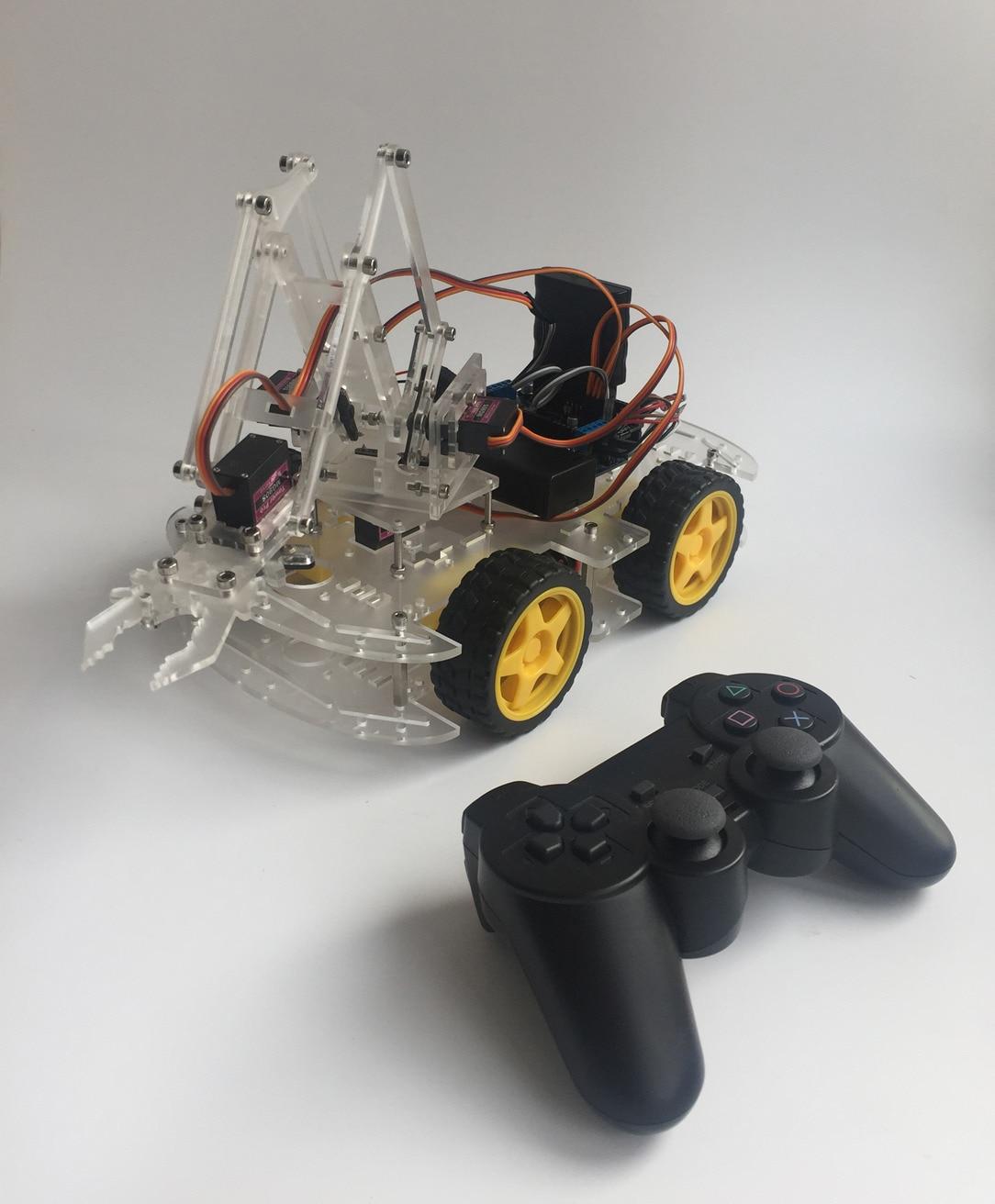 MeArm Raspberry Pie Robot Arm Intelligent Car Learning Kit Robot Graduation Design