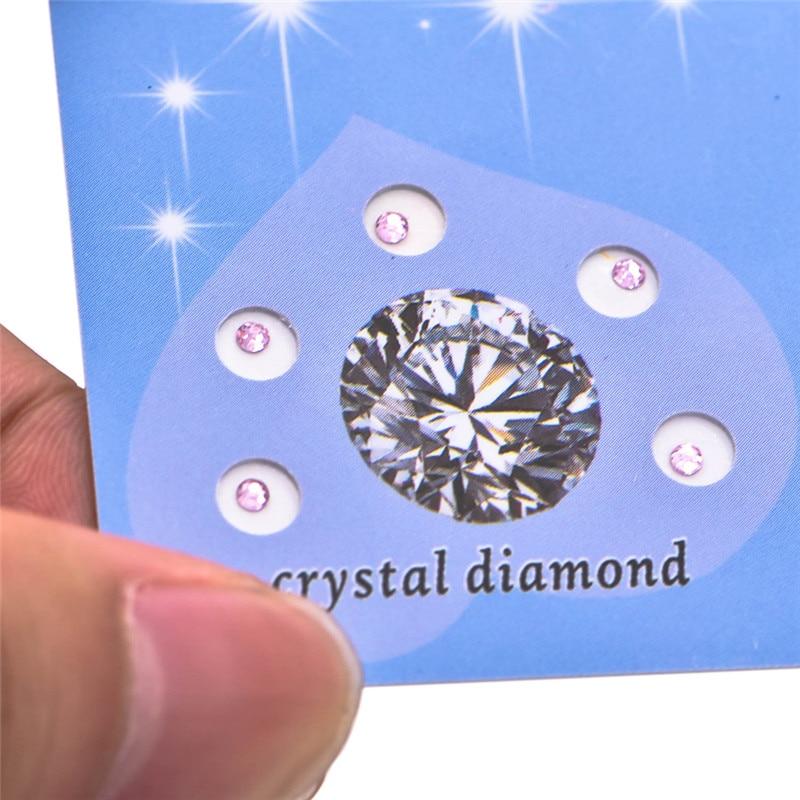 15pcs/3 Sheet Hot Sale Dental Top Grade Crystal Tooth Stones Teeth Whitening Teeth Decoration Jewels Tooth Crystal Diamond Bur