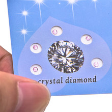 15pcs/3 sheet Hot Sale Dental Top Grade Crystal Tooth Stones Teeth Whitening Decoration Jewels Diamond Bur