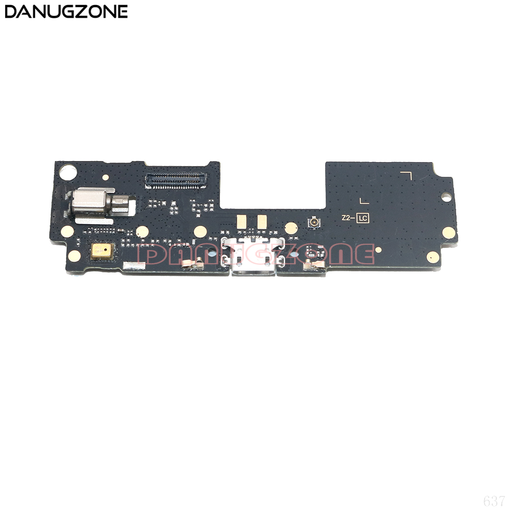 USB Charging Port Dock Plug Jack Connector Charge Board With Microphone Flex Cable + Vibrator For Lenovo Vibe Z2 5.5 Inch