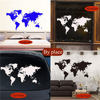 Wall Sticker Decal World Map for Living Room 2