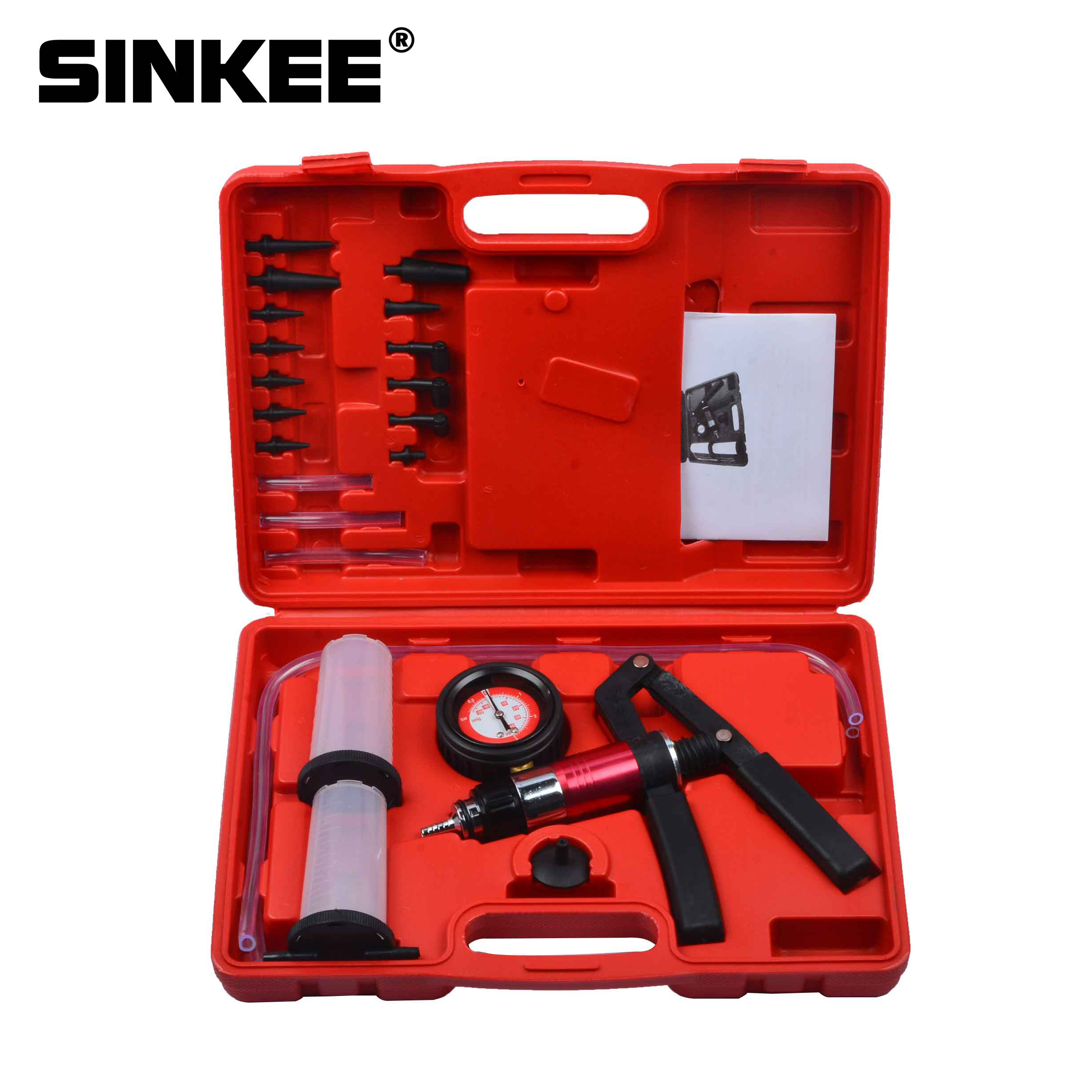 Hand Held Vacuum Pump Brake Bleeder Set Bleed tester Tool Kit SK1270