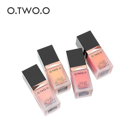O.TWO.O New Liquid Blush Makeup Cheek Silky Pink Color Blusher Natural Long Lasting Face Contour Make Up Professional Blush Islamabad
